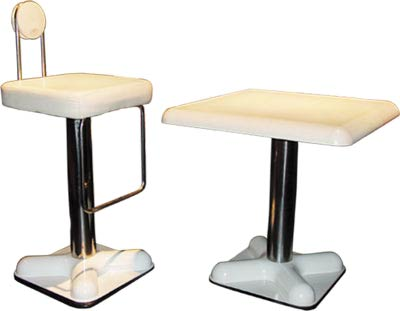 Джо Коломбо. Joe Colombo. birillo barstool. 1969