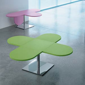 Карим Рашид. Karim Rashid. Quadro Side Table