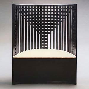 Чарльз Рени Макинтош. Charles Rennie Mackintosh. Кресло Willow. В настоящее время производится Cassina S.p.A.