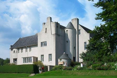 Чарльз Рени Макинтош. Charles Rennie Mackintosh. Hill House в Хелленсбурге для издателя Вальтера Блэки (Walter Blackie)