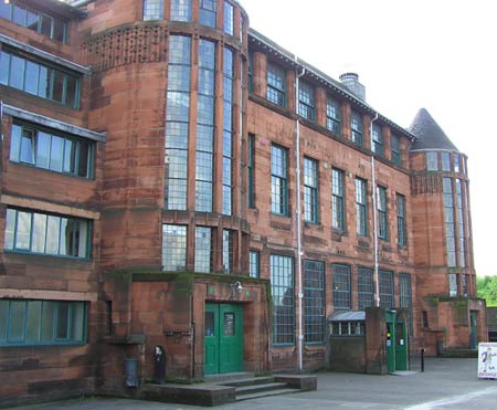 Чарльз Рени Макинтош. Charles Rennie Mackintosh. Scotland Street School в Глазго