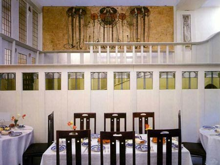 Чарльз Рени Макинтош. Charles Rennie Mackintosh. Дамская комната для завтраков (The Ladies' Luncheon Room) на Ingram Street