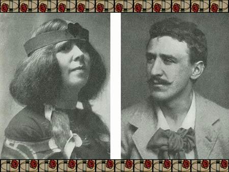 Чарльз Рени Макинтош (Charles Rennie Mackintosh) и Маргарет Макинтош Макдональд (Margaret Mackintosh Macdonald)