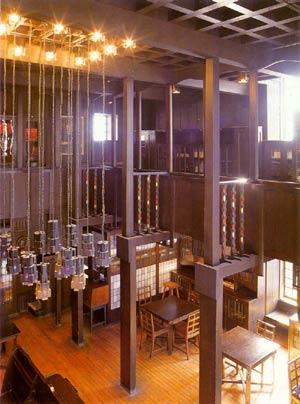 Чарльз Рени Макинтош. Charles Rennie Mackintosh. Библиотека Школы Искусств Глазго (Glasgow School of Art)