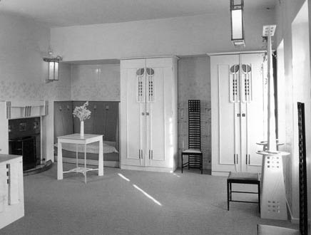Чарльз Рени Макинтош. Charles Rennie Mackintosh. Ванная комната в Hill House, 1903