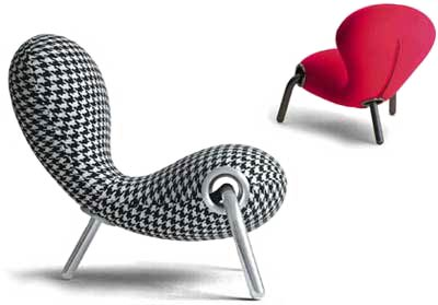 Марк Ньюсон. Marc Newson. Embryo Chair. Cappellini
