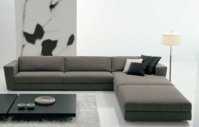 Паола Навоне. Paola Navone. Canyon sofa. Poliform