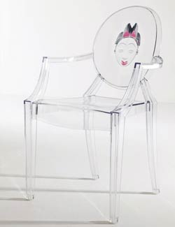 Филипп Старк. Philippe Stark. Louis Ghost, Kartell 2004