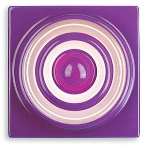 Вернер Пантон. Verner Panton. Ring Lamp violet
