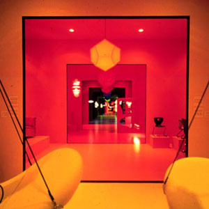 Вернер Пантон. Verner Panton. Flying Chairs, 1964