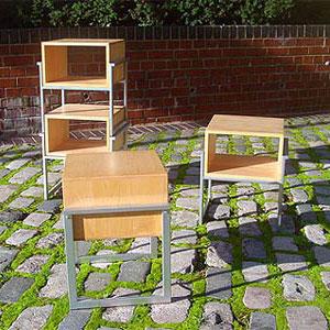 Трансформируемая мебель. Шин и Томоко Азуми. Shin&Tomoko Azumi. Stool = Shelf