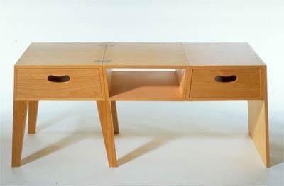 Трансформируемая мебель. Шин и Томоко Азуми. Shin&Tomoko Azumi. Table = Chest