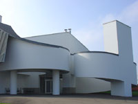 Фрэнк Гери (Frank Gehry): Vitra Design Museum (музей дизайна Vitra), Vitra premises, Weil am Rhein, Germany, 1989