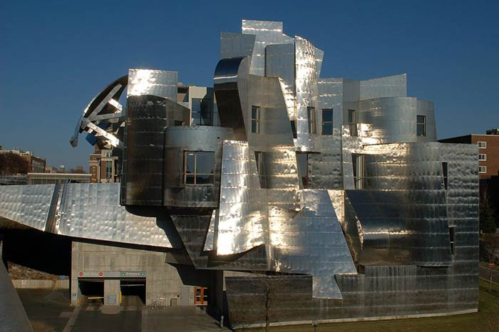 Фрэнк Гери (Frank Gehry): Frederick Weisman Museum of Art, University of Minnesota, Minneapolis, Minnesota, USA, 1993