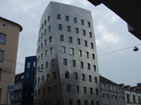 Фрэнк Гери (Frank Gehry): Gehry Tower, Hanover, Germany, 1999 - 2001