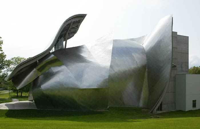 Фрэнк Гери (Frank Gehry): Richard B. Fisher Center for the Performing Arts, Bard College, Annandale-on-Hudson, New York, USA, 2003