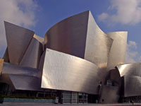 Фрэнк Гери (Frank Gehry): Walt Disney Concert Hall, Los Angeles, California, USA, 2003