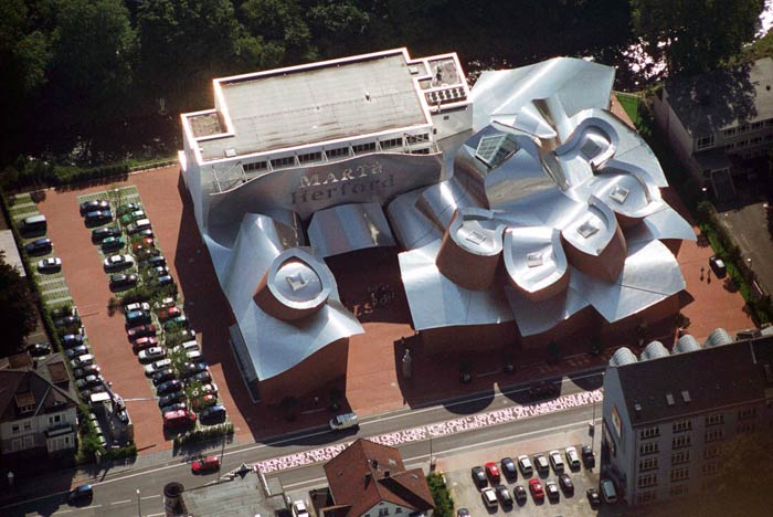 Фрэнк Гери (Frank Gehry): Музей MARTa, Herford, Germany, 2005