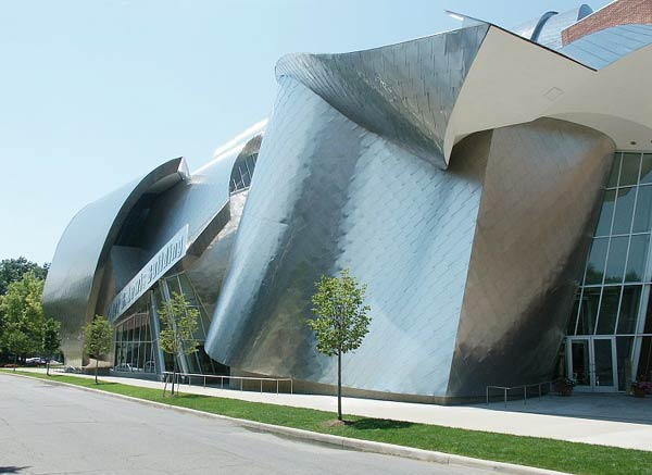 Фрэнк Гери (Frank Gehry): Weatherhead School of Management, Case Western Reserve University, Cleveland, Ohio, USA, 2002