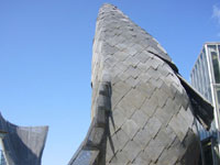 Фрэнк Гери (Frank Gehry): Fish Dance Restaurant. Kobe, Japan, 1986 - 1987
