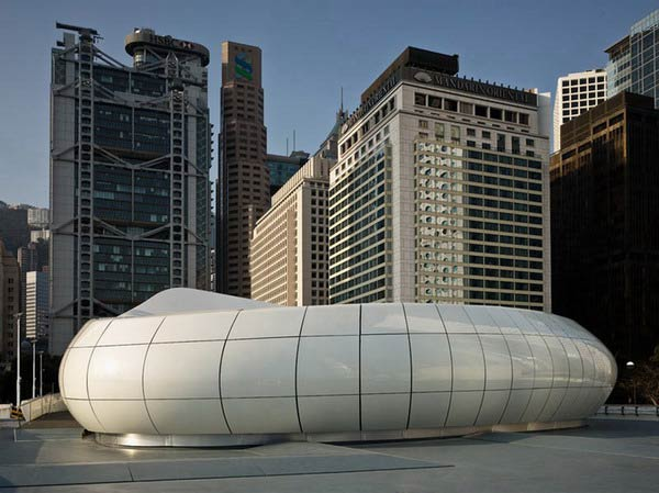 Заха Хадид (Zaha Hadid Architects): Chanel Mobile Art Pavilion (Chanel Contemporary Art Container. Worldwide), Hong Kong, Tokyo, New York, Moscow, Milan, Paris, 2008—2010