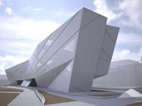 Заха Хадид (Zaha Hadid Architects): Library and Investigative Resources Centre, University of Seville, Seville, Spain (Библиотека Севильского Университета, Севилья, Испания), 2006—