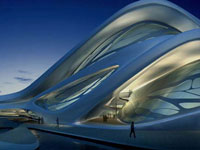 Заха Хадид (Zaha Hadid Architects): Abu Dhabi Performing Arts Centre, Abu Dhabi, United Arab Emirates (Центр исполнительских искусств, Абу-Даби, ОАЭ), 2007—