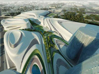 Заха Хадид (Zaha Hadid Architects): Cairo Expo City Competition, Egypt, 2009—