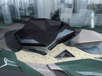 Заха Хадид (Zaha Hadid Architects): Guangzhou Opera House, Guangzhou, China (Оперный театр, Гуанчжоу, Китай), 2003—2008
