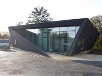 Заха Хадид (Zaha Hadid Architects): Maggie's Fife at the Victoria Hospital, Kirkaldy, Scotland, UK, 2001—2006