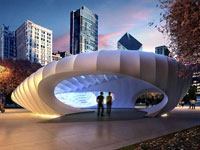 Заха Хадид (Zaha Hadid Architects): Millennium Park Pavilion, Chicago, USA, 2009—