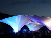 Заха Хадид (Zaha Hadid Architects): Lilas, Serpentine Gallery, Kensington Gardens, London, UK, 2007