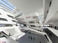 Заха Хадид (Zaha Hadid Architects): University of Economics & Business, Vienna, Austria (Университет Экономики и Бизнеса, Вена, Австрия), 2008—