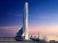 Заха Хадид (Zaha Hadid Architects): Nile Tower, Cairo, Egypt, 2009 —