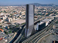 Заха Хадид (Zaha Hadid Architects): CMA CGM Headquarters Tower, Marseille, France, 2005—2010
