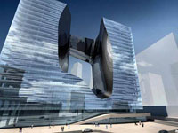 Заха Хадид (Zaha Hadid Architects): «OPUS» Office Tower, Dubai, UAE, 2007—2010