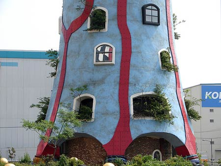 Фриденсрайх Хундертвассер. Friedensreich Hundertwasser: Maishima Sludge Center (о. Майшима, Осака, Япония), 2000—2004