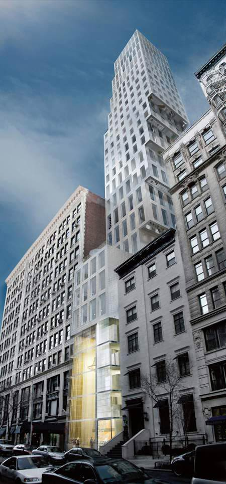 Рем Колхас (Rem Koolhaas)/ OMA: 23 East 22nd Street, New York City, 2008 — 2010