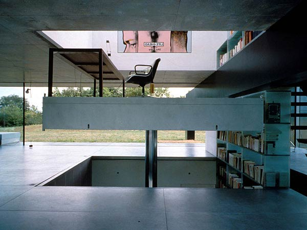 Рем Колхас (Rem Koolhaas)/ OMA: Maison at Bordeaux (French House), Bordeaux, France (Вилла «Дом в Бордо», Бордо, Франция), 1998