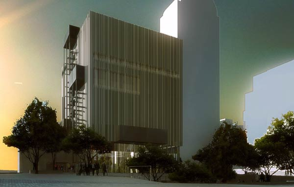 Рем Колхас (Rem Koolhaas)/ OMA: Dee and Charles Wyly Theatre, Dallas, Texas, 2004 — 2009
