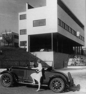 Ле Корбюзье. Le Corbusier. Дома в поселке Вейссенгоф (Weissenhof Estate), Штутгарт, Германия