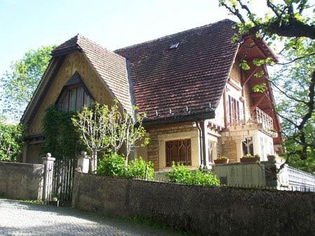 Ле Корбюзье. Le Corbusier. Вилла Фалле (Villa Fallet), Ла Шо-де-Фон (La Chaux-de-Fonds), Швейцария, 1905