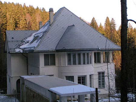 Ле Корбюзье. Le Corbusier. Вилла Жаннере-Перре (Villa Jeanneret-Perret), Ла Шо-де-Фон (La Chaux-de-Fonds), Швейцария, 1912