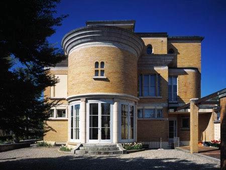 Ле Корбюзье. Le Corbusier. Вилла Швоб (Вилла Турку) Villa Schwob, Ла Шо-де-Фон (La Chaux-de-Fonds), Швейцария, 1916