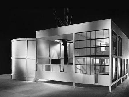 Ле Корбюзье. Le Corbusier. Павильон «ЭСПРИ НУВО» (Pavillon de L'Esprit Nouveau), 1924, Париж – не сохранился