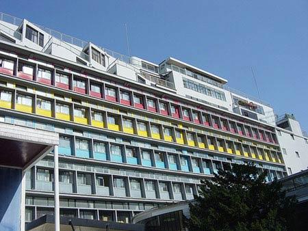 Ле Корбюзье. Le Corbusier. Дом Армии Спасения (Armee du Salut), Cite de Refuge,Париж. 1926-1928