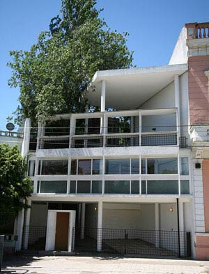 Ле Корбюзье. Le Corbusier. Дом Куручет (Curutchet House, La Plata), Ла-Плата (La Plata), Аргентина. 1949