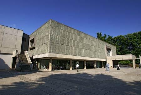 Ле Корбюзье. Le Corbusier. Национальный музей Искусства (National Museum of Western Art), Токио. 1957-1959