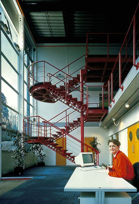Ричард Роджерс (Richard Rogers): Linn Products, Glasgow, Scotland, UK (фабричные здания), 1985—1987