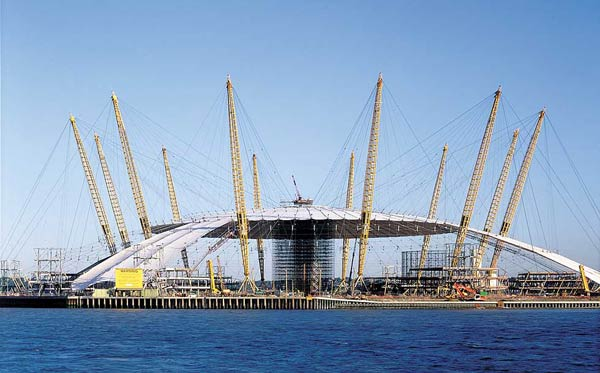 Ричард Роджерс (Richard Rogers): Millennium Experience, London, England, UK (Дом Миллениум в Гринвиче), 1996—1999